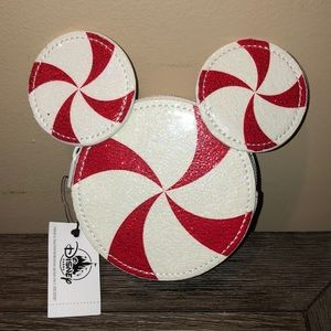 Disney Peppermint Mickey Mouse Mini chAnge Purse
